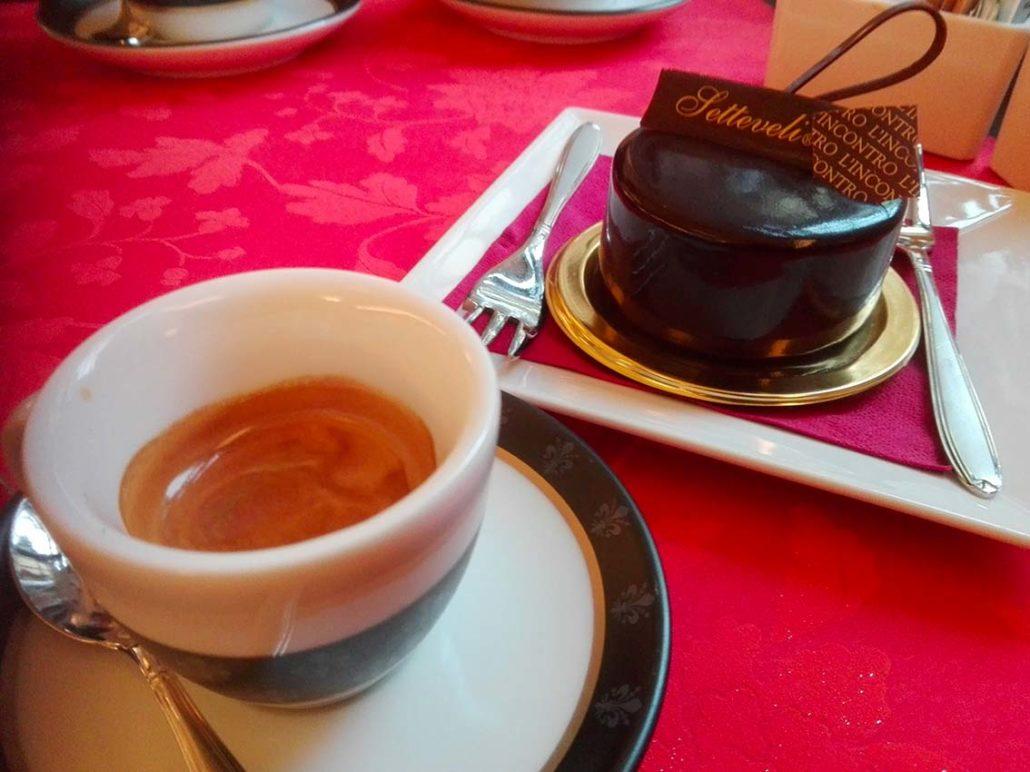 Setteveli di cioccolata